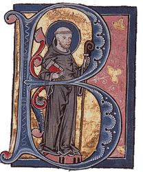 Bernard de Clairveaux, s'opposant à Cluny et critiquant l'attrait des moines pour le pouvoir et l'argent, il fonda un nouvel ordre monastique qui revenait à la source de la règle de Saint Benoît.