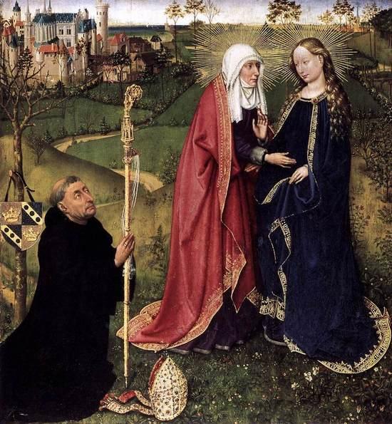 Le sourire de la Vierge Marie à Lourdes, Benoît XVI et Saint Jean-Paul II.