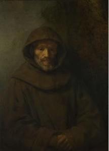 Le père Gardien, tel que nous l'imaginons...( d'après un tableau de Rembrandt)