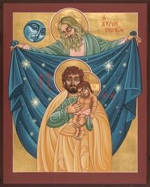 Une participation à la paternité de Dieu, Saint Joseph par Jean-Paul II.