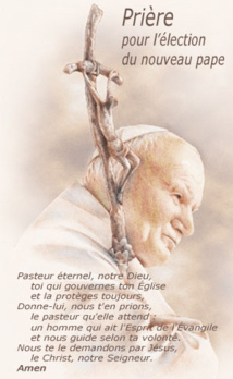 Conclave : le combat de l'Espérance et les bases de la réforme de la Curie;