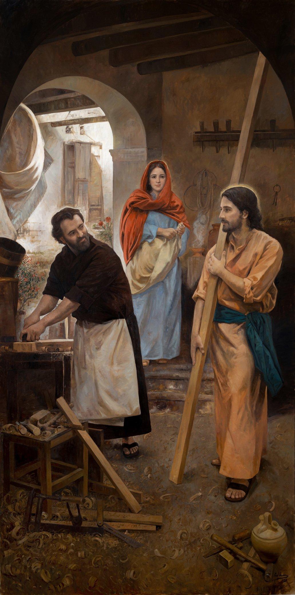 Joseph et l'Esprit Saint : une tonalité particulière