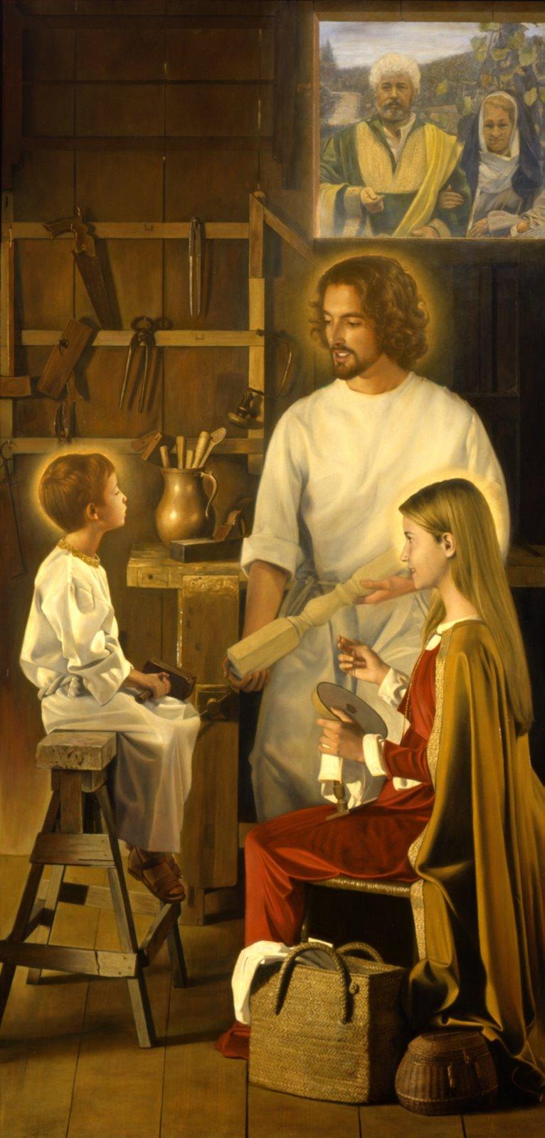 Prière de l'Irascible...à Saint Joseph le Doux et Fort.