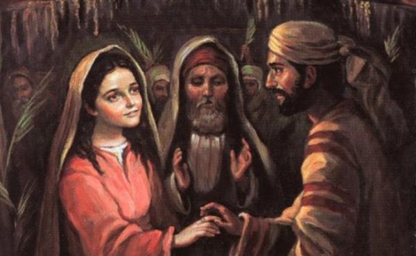 Pape François : Joseph, l'élu de Dieu qui a fait l'histoire.