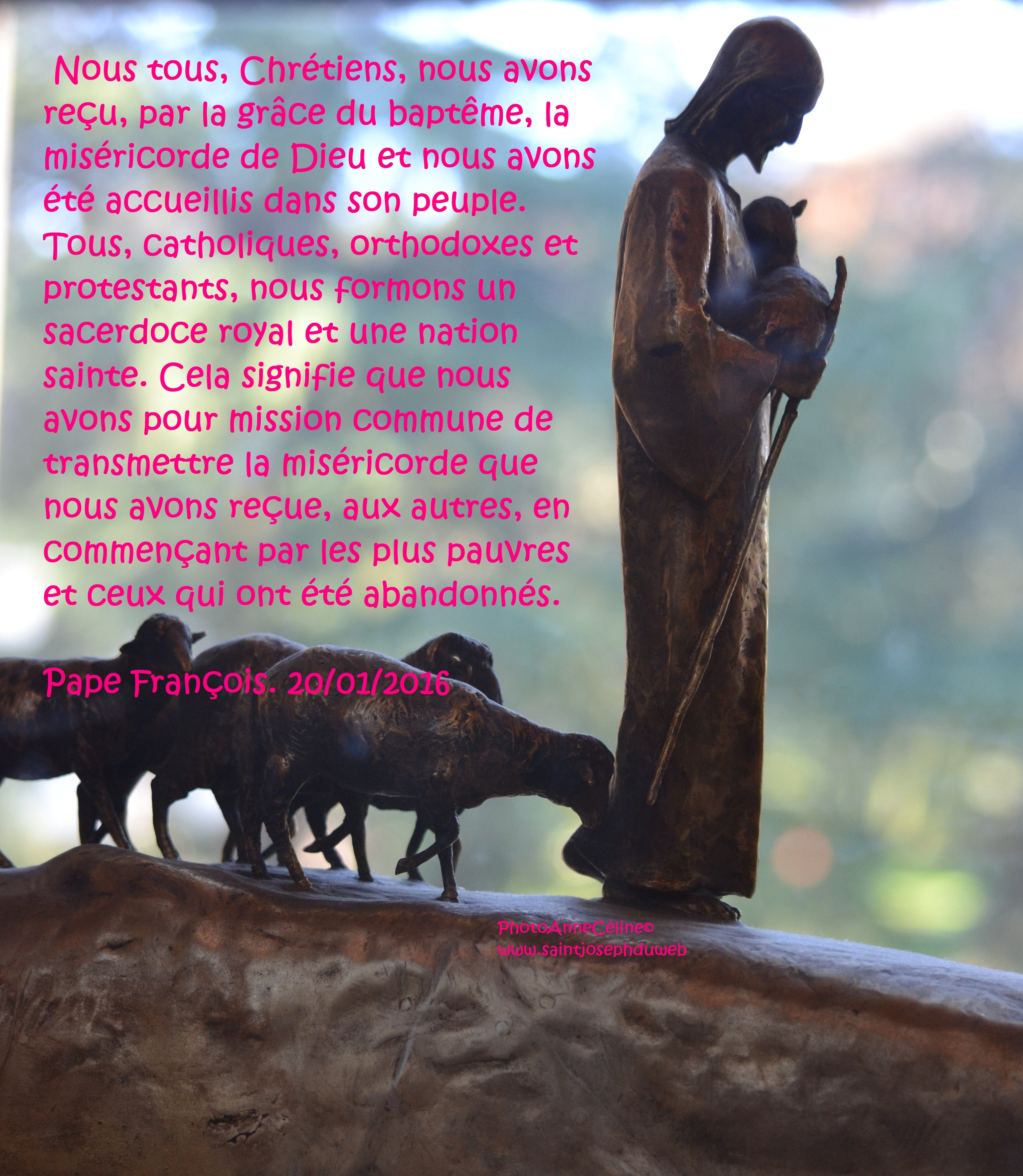 photo AnneCéline©, statue musées du Vatican, le Bon Pasteur.