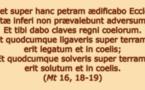 Scoop au Vatican : on recherche des vaticanistes compétents pour comprendre  comment une phrase de l'Evangile a pu ré-apparaître en plein conclave!